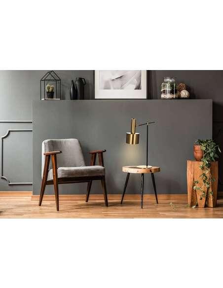 Lampe de table CASSINI 110 Bronze Noir - par Arte Espina