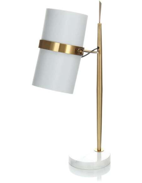 Lampe de table NOUVEAUTÉ 210 Blanc Or - par Arte Espina