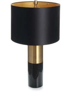 Lampe de table OrBIT 110 Noir Bronze Noir - par Arte Espina