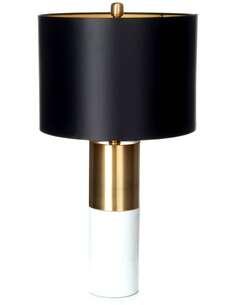 Lampe de table OrBIT 110 Noir Bronze Blanc - par Arte Espina