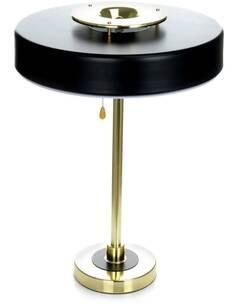 Lampe de table 110 PHOBOS Noir Or - Lampes de chevet par Arte Espina