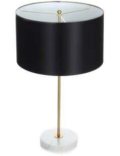 Lampe de table PIONA 110 Noir Or Blanc - par Arte Espina