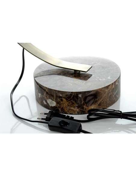 Lampe de table PLUTO 110 Or Marbre - par Arte Espina