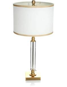 Lampe de table ABAZIO 110 Blanc Or - par Arte Espina