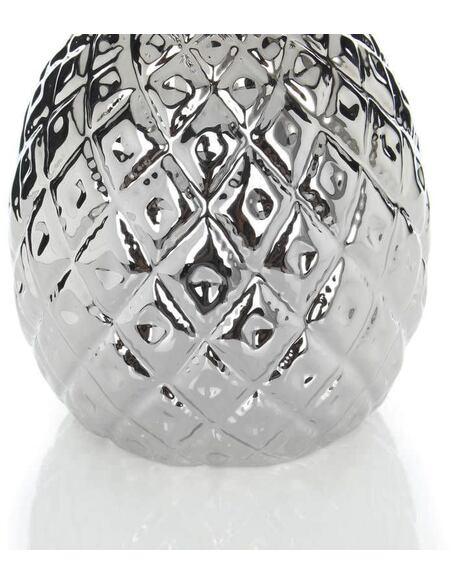 Sculpture ANANAS 110 Argent - par Arte Espina