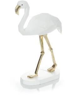 Sculpture FLAMINGO 110 Blanc - par Arte Espina