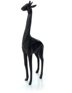 Sculpture GIRAFFE 110 Noir - par Arte Espina