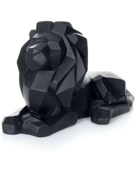 Sculpture LION 110 Noir - par Arte Espina