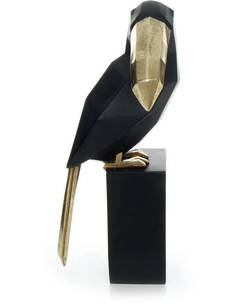 Sculpture TOUCAN 110 Noir - par Arte Espina