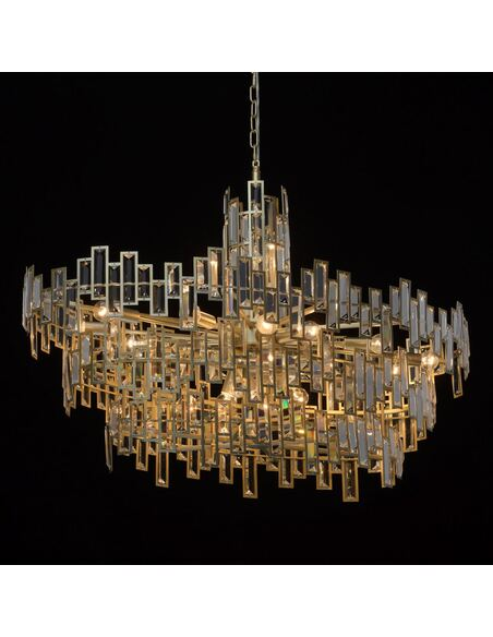 Suspension AMIRAT collection Crystal - par MW-LIGHT