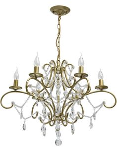 Suspension AMPONVILLE collection Crystal - par MW-LIGHT