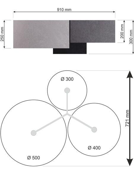 Plafonnier TRIO 080-062 - par BPS Koncept