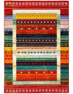 Tapis tissé CASTARA 253 Multicolore - par Arte Espina