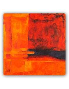 Plaque acier décorative ABSTRACTION - ART 2 - par Feeby