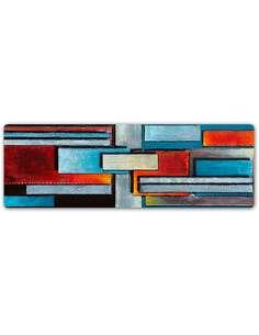 Plaque acier décorative PANORAMA, RÉSUMÉ 58 - par Feeby