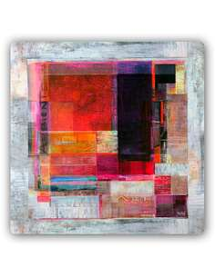 Plaque acier décorative L'ART ABSTRAIT - par Feeby