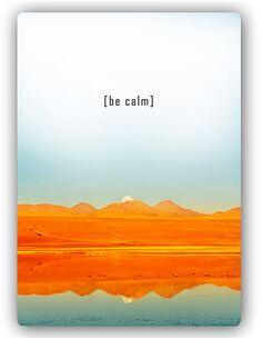 Plaque acier décorative CALMEZ - par Feeby