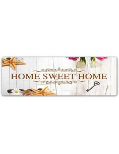 Plaque acier décorative HOME SWEET HOME W BIELI - par Feeby