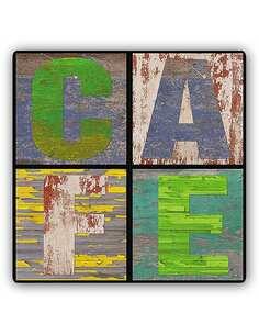 Plaque acier décorative CAFÉ - par Feeby