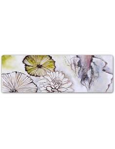 Plaque acier décorative FLEURS - ABSTRACTION - PANORAMA - par Feeby