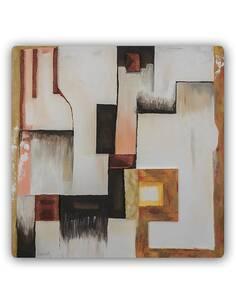 Plaque acier décorative LA ZONE - par Feeby