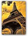 Plaque acier décorative LA TOUR EIFFEL 7 - par Feeby