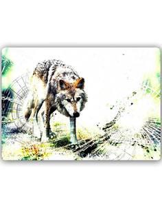 Plaque acier décorative WILK 4 - par Feeby