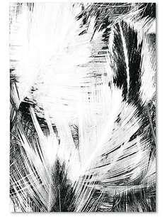 Tableau 19 ABSTRACTION imprimé sur bois - par Feeby