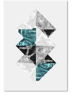 Tableau ABSTRACTION 16 imprimé sur bois - par Feeby