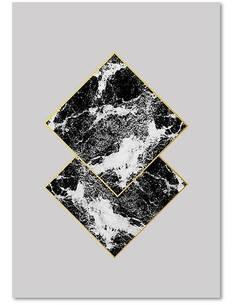 Tableau 14 ABSTRACTION imprimé sur bois - par Feeby