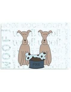 Tableau OS DE CHIEN imprimé sur bois - par Feeby