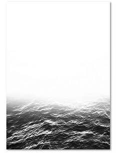 Tableau HORIZON BRUMEUX 2 imprimé sur bois - par Feeby