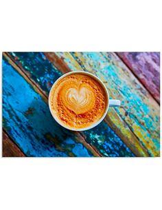 Tableau CAFÉ 2 imprimé sur bois - par Feeby