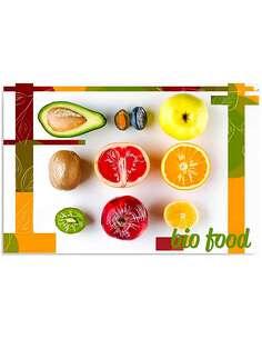Tableau FRUITS imprimé sur bois - par Feeby