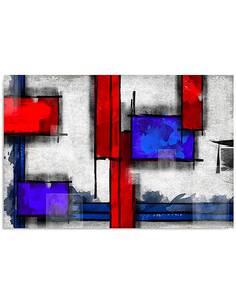 Tableau ABSTRACTION GÉOMÉTRIQUE 6 imprimé sur bois - par Feeby