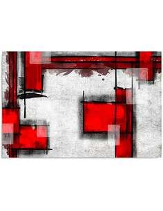 Tableau ABSTRACTION GÉOMÉTRIQUE 5 imprimé sur bois - par Feeby