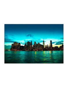 Tableau NEW YORK CITY imprimé sur bois - par Feeby