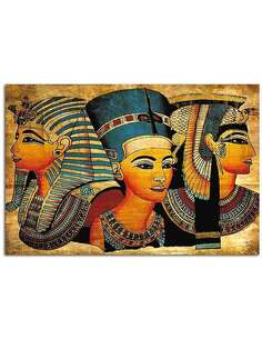 Tableau EGYPTE imprimé sur bois - par Feeby