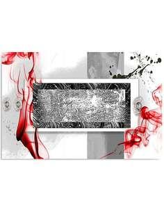 Tableau COMPOSITION ABSTRAITE 2 imprimé sur toile - par Feeby