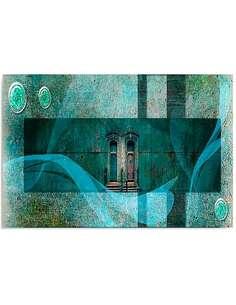 Tableau THÈME ARCHITECTURAL imprimé sur toile - par Feeby
