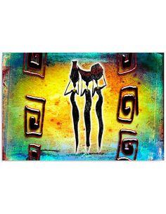 Tableau TROIS GRÂCES imprimé sur toile - par Feeby
