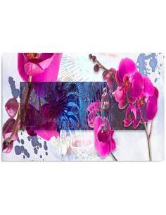 Tableau COMPOSITION ORCHID 1 imprimé sur toile - par Feeby