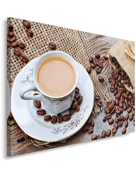 Tableau GRAINS DE CAFÉ 3 imprimé sur toile - par Feeby