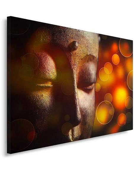 Tableau BUDDHA FACE 2 imprimé sur toile - par Feeby