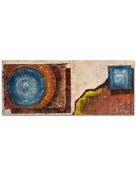 Tableau PANORAMA D'IMAGE SUR TOILE ABSTRACTION TOILE 59 imprimé sur toile - par Feeby