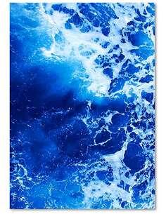 Tableau SEA FOAM 1 imprimé sur toile - par Feeby
