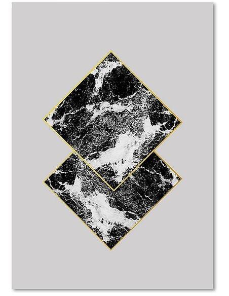 Tableau 14 ABSTRACTION imprimé sur toile - par Feeby