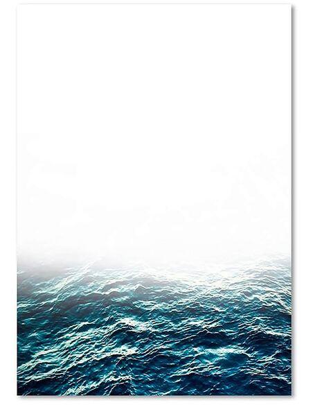 Tableau BRUMEUX HORIZON imprimé sur toile - par Feeby