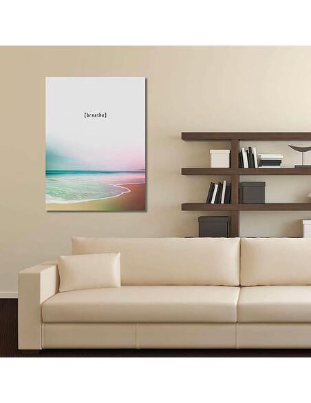 Tableau RESPIREZ 2 imprimé sur toile - par Feeby