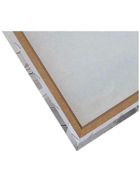 Tableau FLEUR ROUGE ABSTRACTION imprimé sur toile - par Feeby